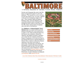Baltimore: A National Register of Historic Places Travel Itinerary