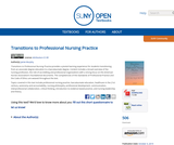 Transitions to Professional Nursing Practice