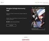 Douglas College Astronomy 1105