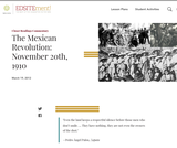 The Mexican Revolution: November 20th, 1910