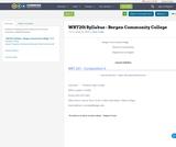 WRT201 Syllabus - Bergen Community College