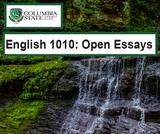 English 1010: Open Essays