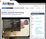 Gyotaku Japanese Fish Printing