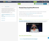 Family Time Coaching Resources