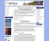 WPSA Annual Meeting, 2013