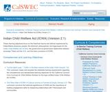 Indian Child Welfare Act (ICWA) (Version 2.1)
