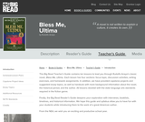 Bless Me, Ultima by Rudolfo Anaya - Teacher's Guide