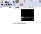 The early stages of the hunt for BRCA1, Mary-Claire KingSite: DNA Interactive (www.dnai.org)