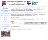 Learning Discrete Mathematics and Computer Science via Primary Historical Sources