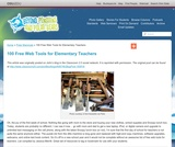 100 Free Web Tools for Elementary Teachers