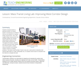 Mass Transit Living Lab: Improving West Corridor Design
