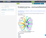 To-infinitive and -ing ..... mind map by MahaAlsabr