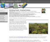 Earth Exploration Toolbook Chapter: Shrinking Forest - Growing Problem