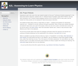 Assessing-to-Learn Questions Database