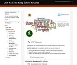 ICT to Keep School Records