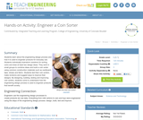 Engineer a Coin Sorter