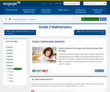 Grade 2 Module 8: Time, Shapes, and Fractions as Equal Parts of Shapes