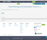 Travel Planning and Presenting for Tourism
