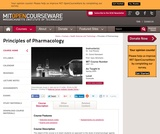 Principles of Pharmacology, Spring 2005