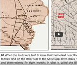 Iowa Early History Glaciers to Settlement: Unit 5 (Adaptive Video with Captioning)  Unit 5 Black Hawk's Story & Tribal Mvmts out of Iowa