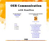 Communication with Hamilton