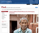 Issues in Mental Health Research in Developing Countries