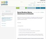 Social Studies: Native Americans vs Colonists