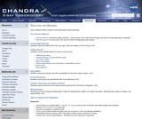 Chandra: Ask An Astrophysicist