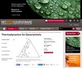 Thermodynamics for Geoscientists, Fall 2006