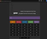 Subject Verb Agreement Quiz Show Slides