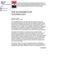 The Economics of Technology