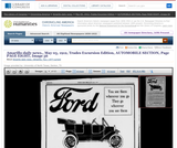 Model T Ford Advertisement May 5, 1912