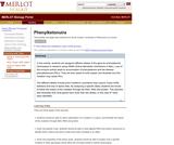 Phenylketonuira