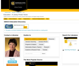 Kennesaw State University Education Library Portal