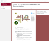 Kenya ICT CFT Course: ICT to Support Collaboration and Communication