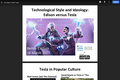 Technological Style and Ideology: Edison versus Tesla