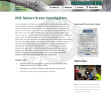 NSI: Nature Scene Investigators