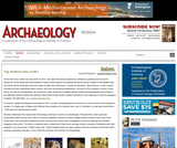 Archaeology Magazine's Top 10 Discoveries of 2011