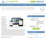 Storing Android Accelerometer Data: App Design