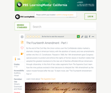 The Fourteenth Amendment - Part I