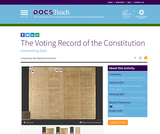 The Voting Record of the Constitution