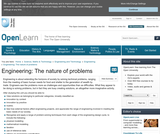 The Engineer as a Problem-Solver: the Nature of Problems