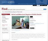 Social and Behavioral Aspects of Public Health