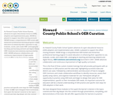 Howard County Public School's OER Curation