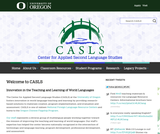 Center for Applied Second Language Studies (CASLS)