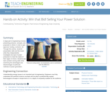Win that Bid! Selling Your Power Solution