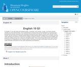 English 10 Q1