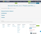 Discover the Arts, vol. 2: Theatre and Film