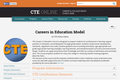 Careers in Education Model