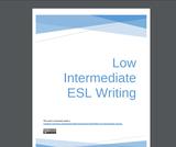 Low Intermediate ESL Writing